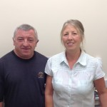 Stella Maris School Caretakers Paul & Julia