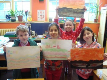 KS2 Artwork Drawing and Painting