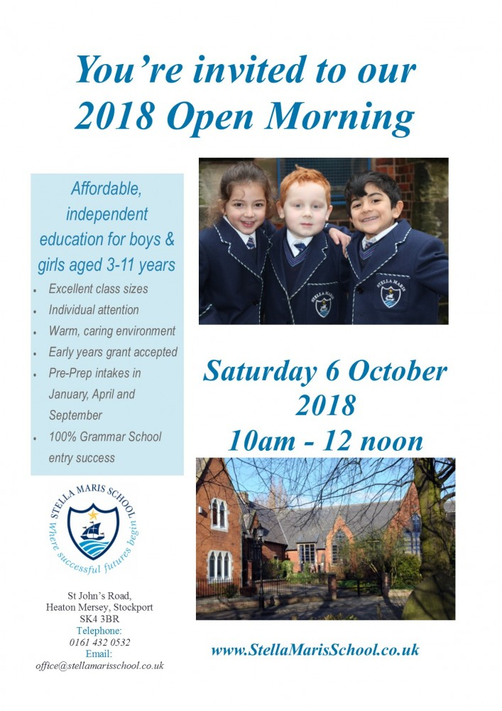 October Open Morning